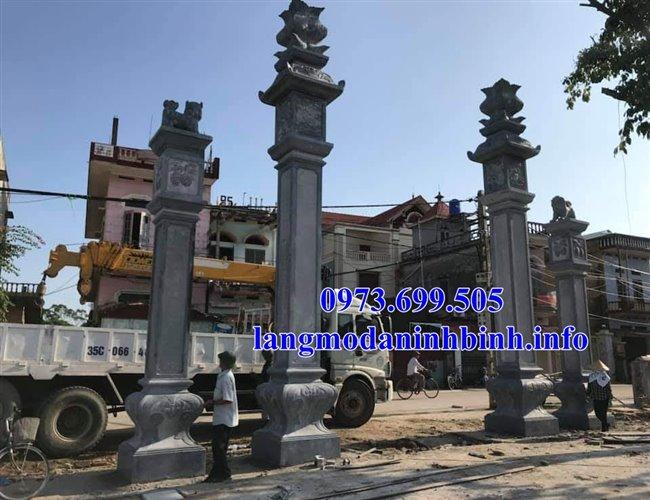 Địa chỉ bán các mẫu cổng đá, cổng tam quan đá đình chùa nhà thờ họ uy tín giá rẻ tại Hà Nội