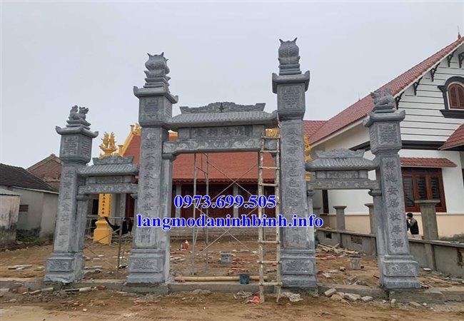 Địa chỉ bán cổng từ đường, nhà thờ họ bằng đá chuẩn kích thước phong thủy nhất hiện nay tại Vĩnh Phúc