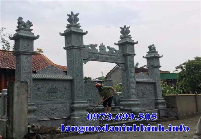 Địa chỉ bán các mẫu cổng tam quan bằng đá giá rẻ