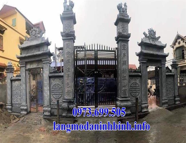 Hình ảnh cổng đá, cổng tam quan đá đẹp nhất hiện nay