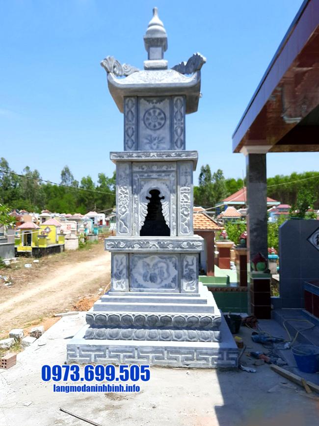 Tháp mộ để hũ tro cốt tại Bạc Liêu