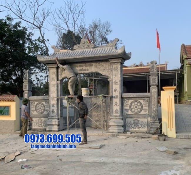 cổng đá đẹp nhất tại Bắc Ninh