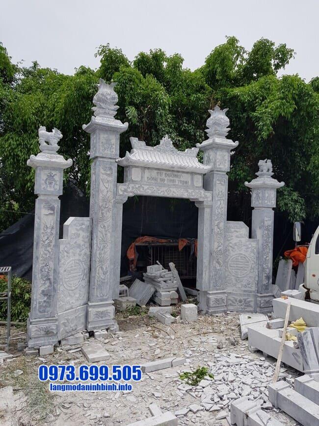 cổng đá đẹp nhất tại Hải Dương