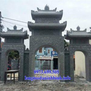 Cổng đá đep - Địa chỉ bán mẫu cổng đá giá rẻ tại Hà Nội