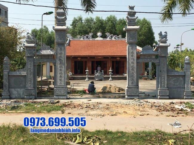 cổng đá tại Hưng Yên đẹp nhất