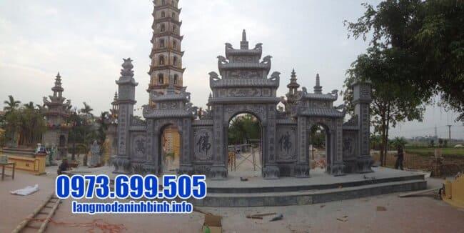 cổng đá tại Hưng Yên đẹp