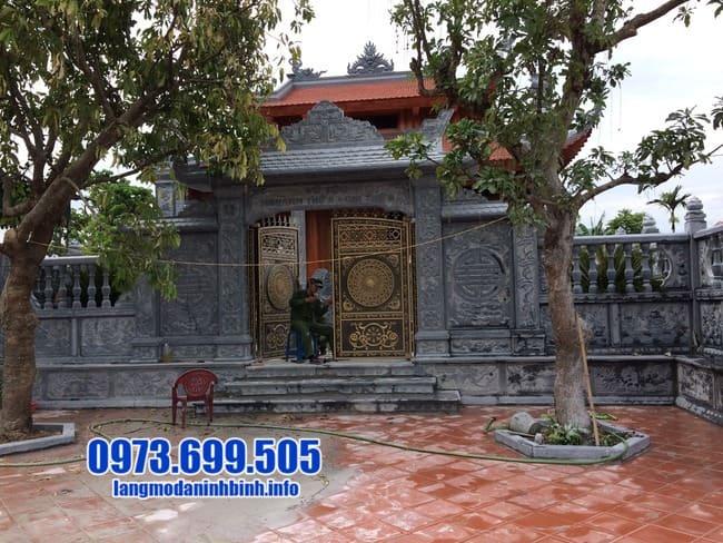 cổng đá tại Hưng Yên