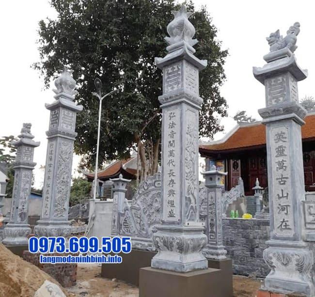 cổng tam quan bằng đá tại Quảng Ninh đẹp
