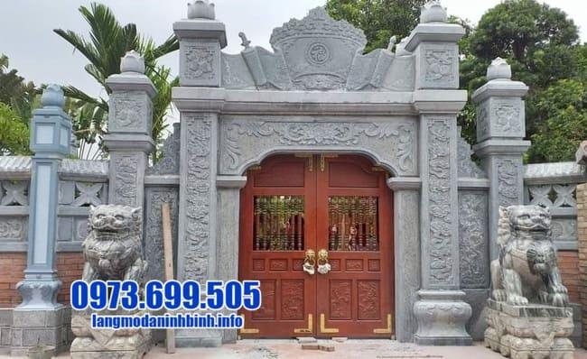 cổng tam quan đẹp tại Hải Dương