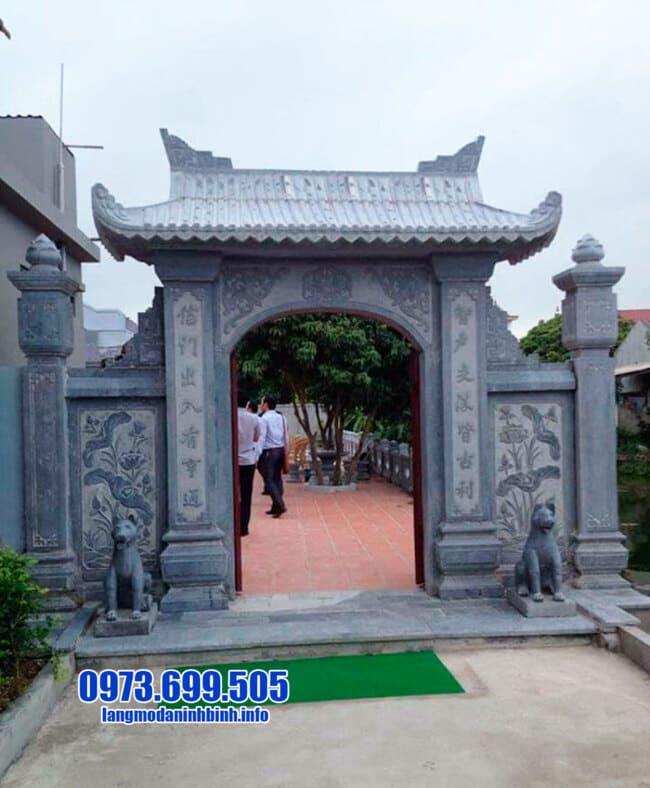 mẫu cổng tam quan bằng đá tại Hưng Yên đẹp nhất
