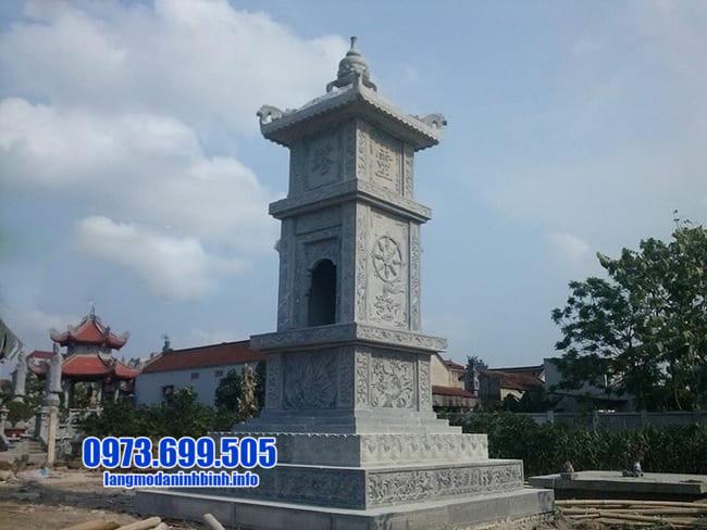 mẫu mộ tháp đá tại An Giang đẹp