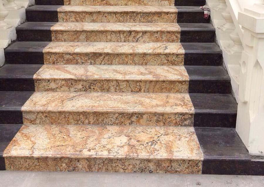 Mẫu bậc tam cấp bằng đá