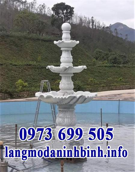 Mẫu đài phun nước hồ cá, hồ bơi đẹp