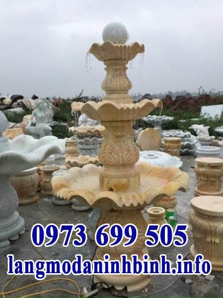 Đài phun nước sân vườn, biệt thự đẹp