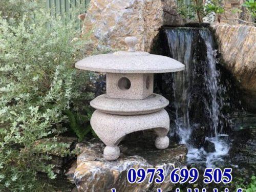 Mẫu đèn đá sân vườn biệt thự kiểu Nhật Bản