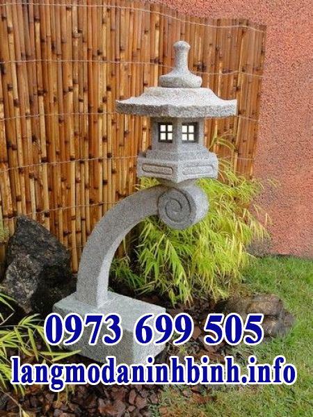 Đèn đá kiểu Nhật trang trí sân vườn biệt thự đẹp