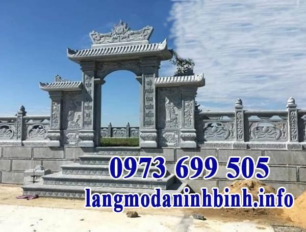 Báo giá cổng đá tự nhiên Ninh Vân, Ninh Bình