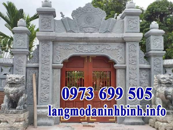Cổng đá Ninh Vân đẹp