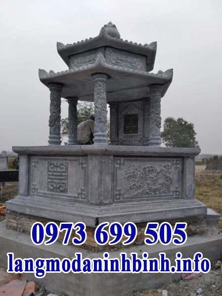 Mẫu mộ đá lục lăng ý nghĩa