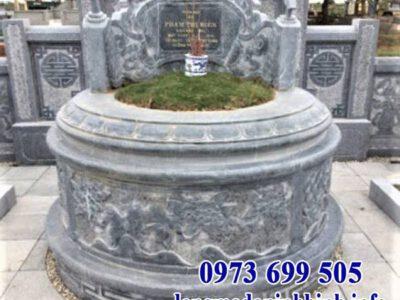 Nên chọn mộ đá tròn hay mộ đá lục giác