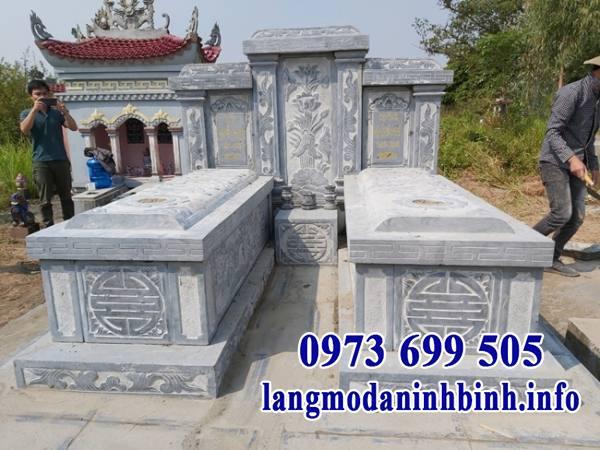 Những tiêu chí ảnh hưởng đến giá của mộ đôi bằng đá