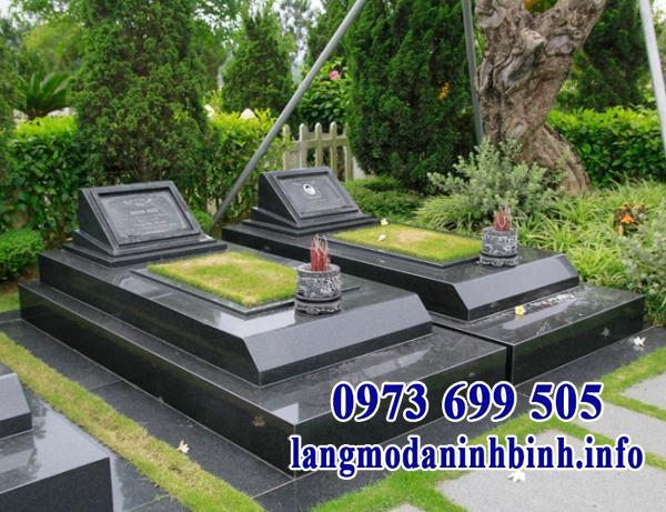 Mẫu mộ song thân đẹp
