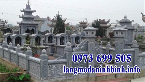 Mẫu khu lăng mộ gia đình đẹp
