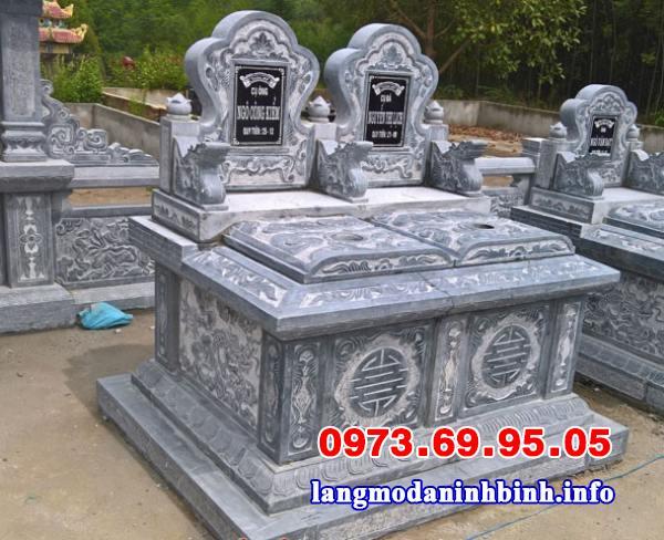 Thiết kế mộ đôi đẹp