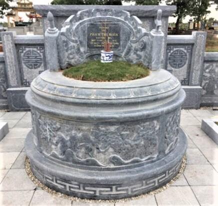 Lăng mộ tròn đẹp
